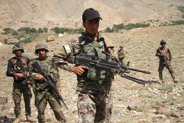 Útok Talibanu na policejní velitelství. Ilustrační snímek