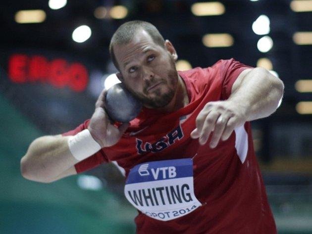 Koulař Ryan Whiting vybojoval na halovém mistrovství světa v Sopotech zlato.