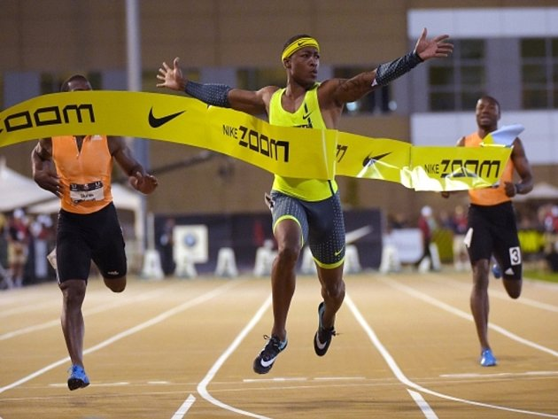Mike Rodgers kraloval na americkém šampionátu sprintu na 100 metrů.