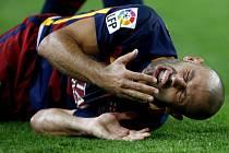 Javier Mascherano z Barcelony.
