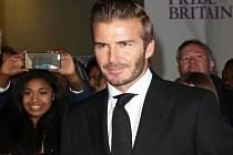 Fotbalová ikona David Beckham.