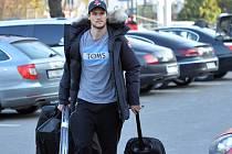 Tomáš Kundrátek na srazu hokejové reprezentace.