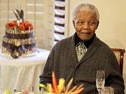 Bývalý jihoafrický prezident Nelson Mandela.