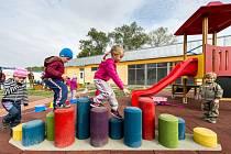 Děti si hrají v mateřské školce. Ilustrační foto