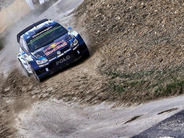 Sébastien Ogier na Německé rallye.