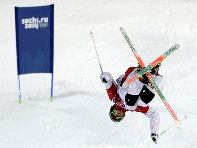Boulař Alex Bilodeau na olympijských hrách v Soči obhájil zlato.