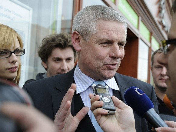 Poslanec Milan Šťovíček