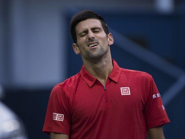 Novak Djokovič skončil na Masters v Šanghaji v semifinále.