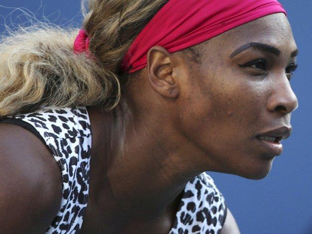 Serena Williamsová ve finále US Open.