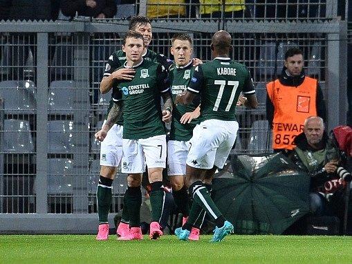 Fotbalisté Krasnodaru se v Dortmundu brzy ujali vedení díky gólu Mamajeva