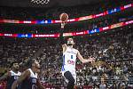 Utkání basketbalového MS mezi Českem a USA
