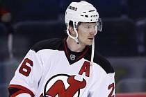 Hokejový útočník New Jersey Patrik Eliáš.
