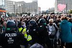 Berlínský protest proti opatřením