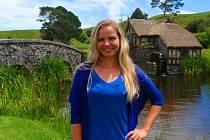 Markéta Páráčková studuje na univerzitě v novozélandském Dunedinu.