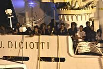 Migranti na lodi Diciotti
