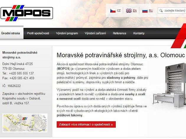 Moravské potravinářské strojírny