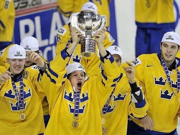 Hokejisté Švédska vybojovali na juniorském mistrovství světa titul.