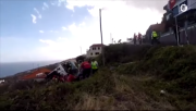 Nehoda autobusu na ostrově Madeira