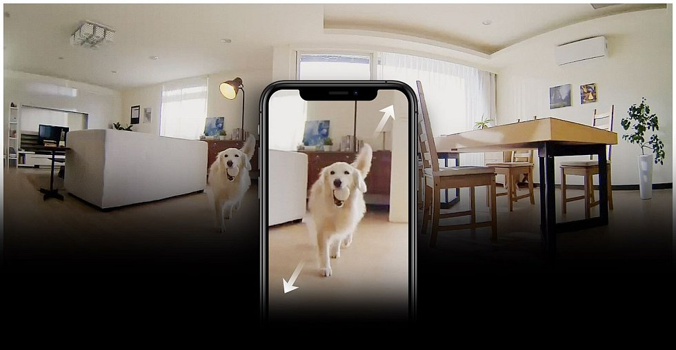 Bezpečnost na prvním místě. Pokud si koupíte kameru D-Link DCS-8515LH, doma si ji nainstalujete i sami s pomocí smartphonu a mobilní aplikace.