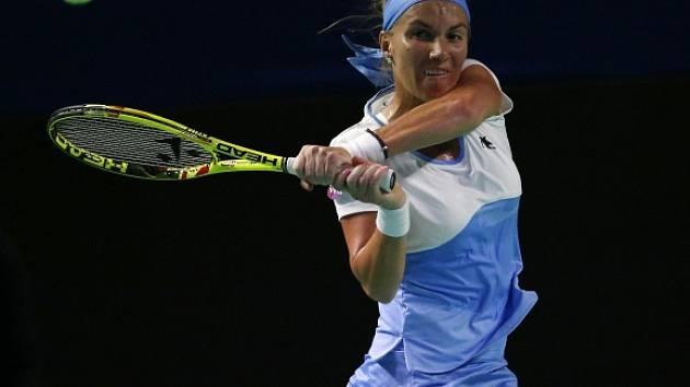 Světlana Kuzněcovová se do Singapuru kvalifikovala díky triumfu na turnaji v Moskvě.
