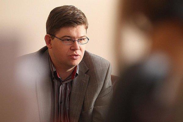 Ministr spravedlnosti Jiří Pospíšil (ODS) při rozhovoru pro Deník.