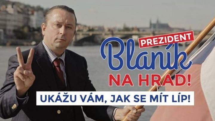 Prezident Blaník - premiéra filmu