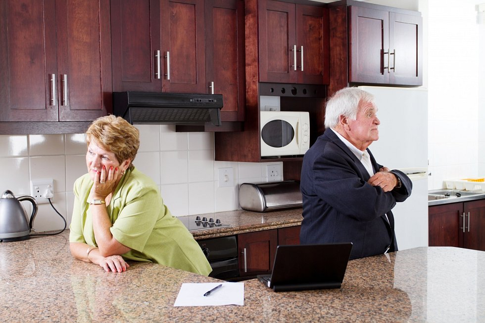 Rozvodů starších lidí v posledních letech přibývá.