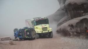 Valtr zachránil na Dakaru život