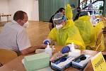 Plošné testování zaměstnanců OKD