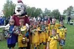 Vítězové turnaje mladších přípravek ve Větrovech FC Nová Včelnice.