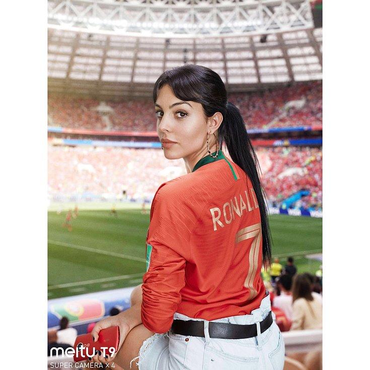 Georgina Rodriguezová, přítelkyně Cristiana Ronalda.