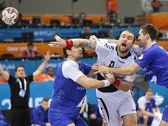 Pavel Horák a jeho snaha v utkání proti Islandu