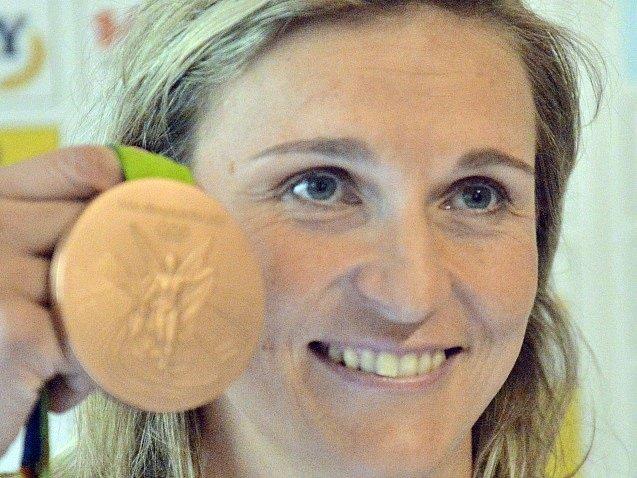 Barbora Špotáková s bronzem z olympiády v Riu