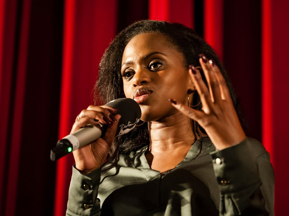 Maimouna Doucoure na festivalu Berlinale