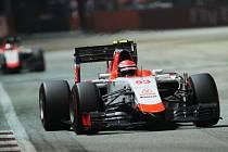Alexander Rossi z týmu Manor Marussia.