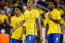 Zklamaní Brazilci po vyřazení z turnaje.