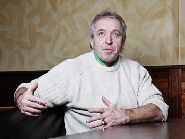 Bývalý fotbalový reprezentant Ladislav Vízek.