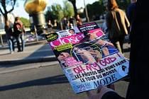 Fotografie polonahé Kate na titulní stránce francouzského časopisu Closer