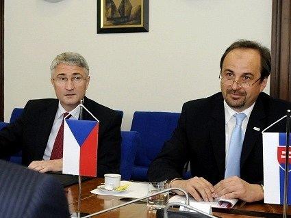 Vladimír Galuška a Jan Kohout