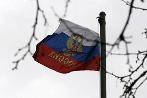 Ruská vlajka - ilustrační foto