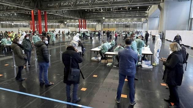 Hromadné testování na koronavirus ve Vídni, 4. prosince 2020