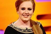 Britská zpěvačka Adele.