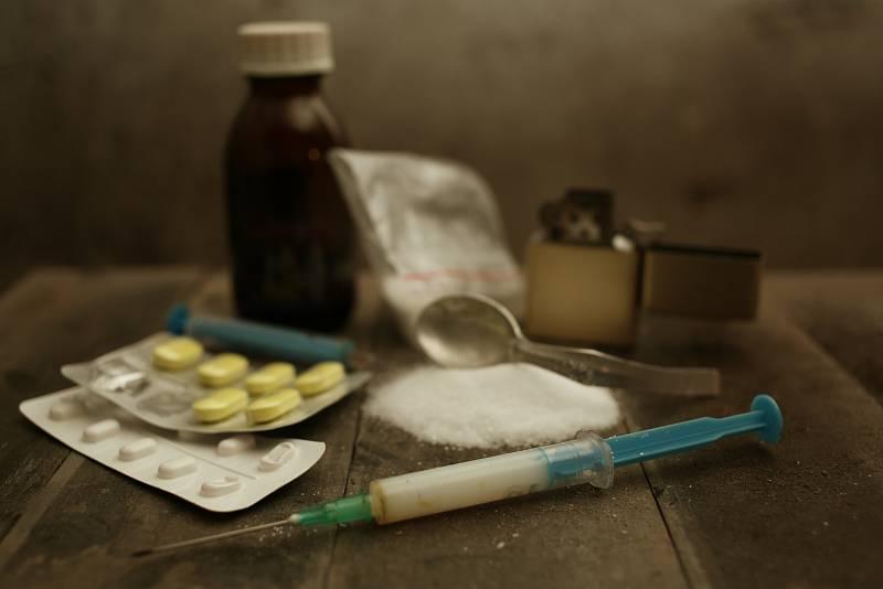 Drogy. Ilustrační snímek