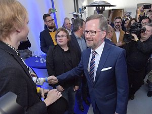 Lídr ODS Petr Fiala