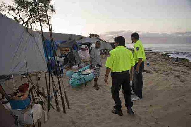 Ve Waianae na Haiti se připravují na cunami