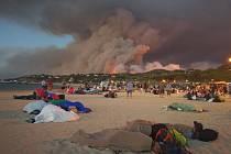 Požár na jihu Francie