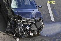 Nehoda na dálnici v Berlíně