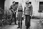 Irma Grese a Josef Kramer po zadržení