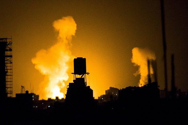 Rakety nad Izraelem