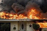 Sever Kalifornie zachránil rozsáhlý požár